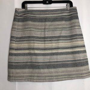Ann Taylor LOFT skirt Size 10 multicolor